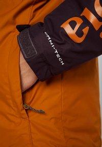 Columbia - TIMBERTURNER JACKET - Snowboardjas - burnished amber/black cherry - 7
