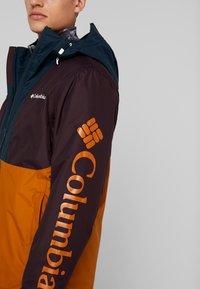 Columbia - TIMBERTURNER JACKET - Snowboardjas - burnished amber/black cherry - 4