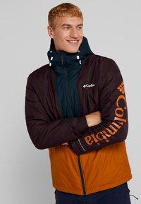 Columbia - TIMBERTURNER JACKET - Snowboardjas - burnished amber/black cherry - 0