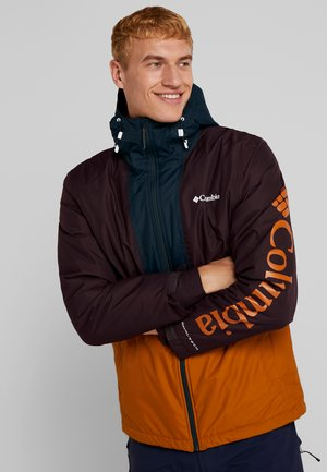TIMBERTURNER JACKET - Veste de snowboard - burnished amber/black cherry