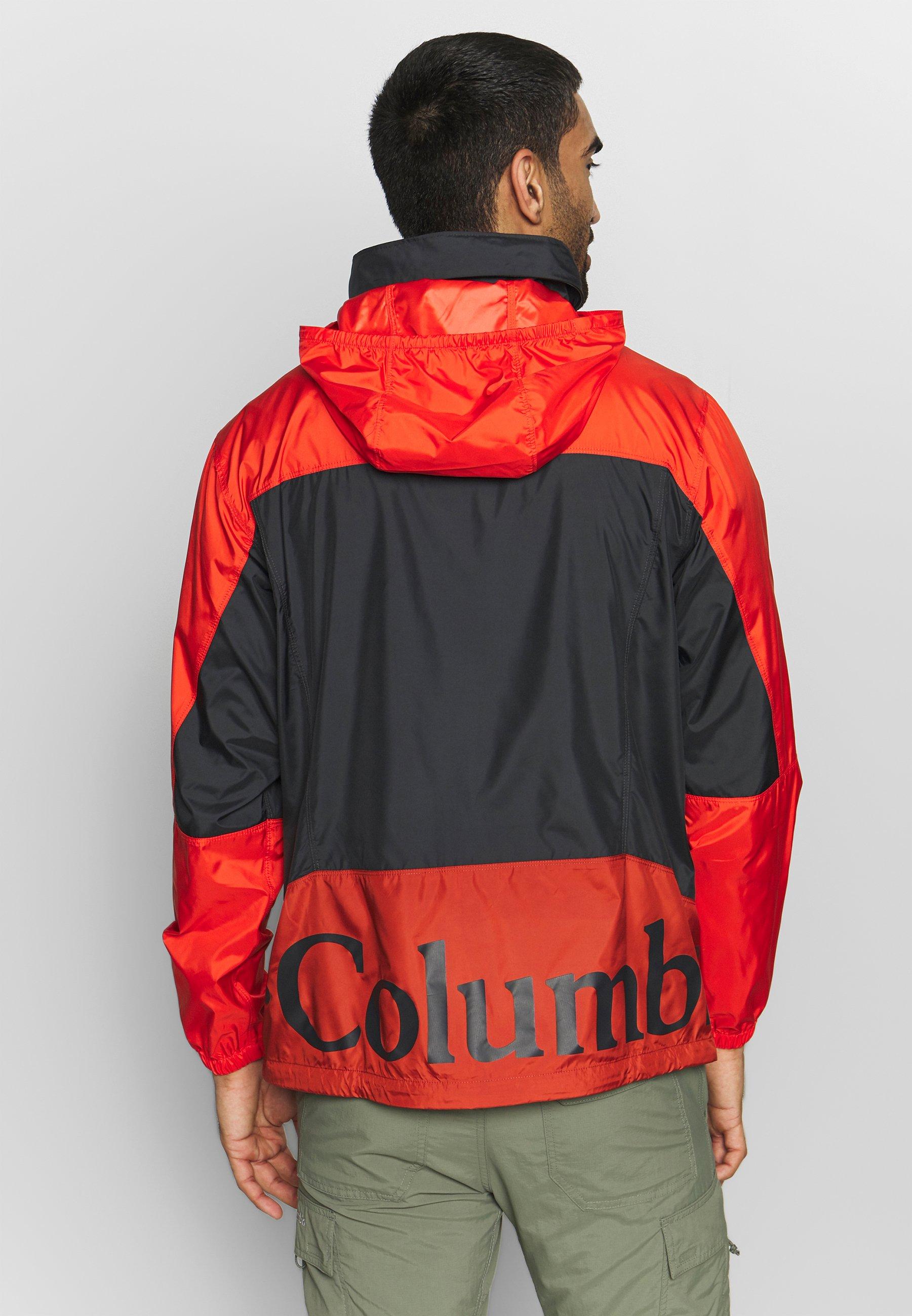 Columbia Point Park™ - Vindjacka Carnelian Red/wildfire/shark