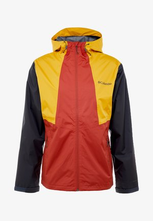 INNER LIMITS™ JACKET - Kuoritakki - carnelian red/bright gold/shark