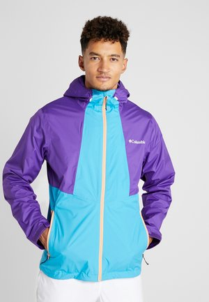 INNER LIMITS™ JACKET - Hardshell jacket - clear water/vivid purple/bright nectar