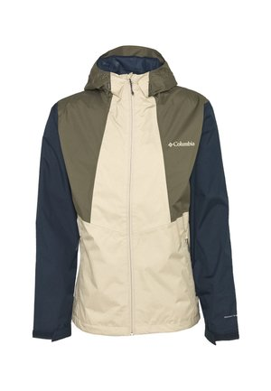 INNER LIMITS™ JACKET - Chaqueta Hard shell - ancient fossil/coll navy/stone green