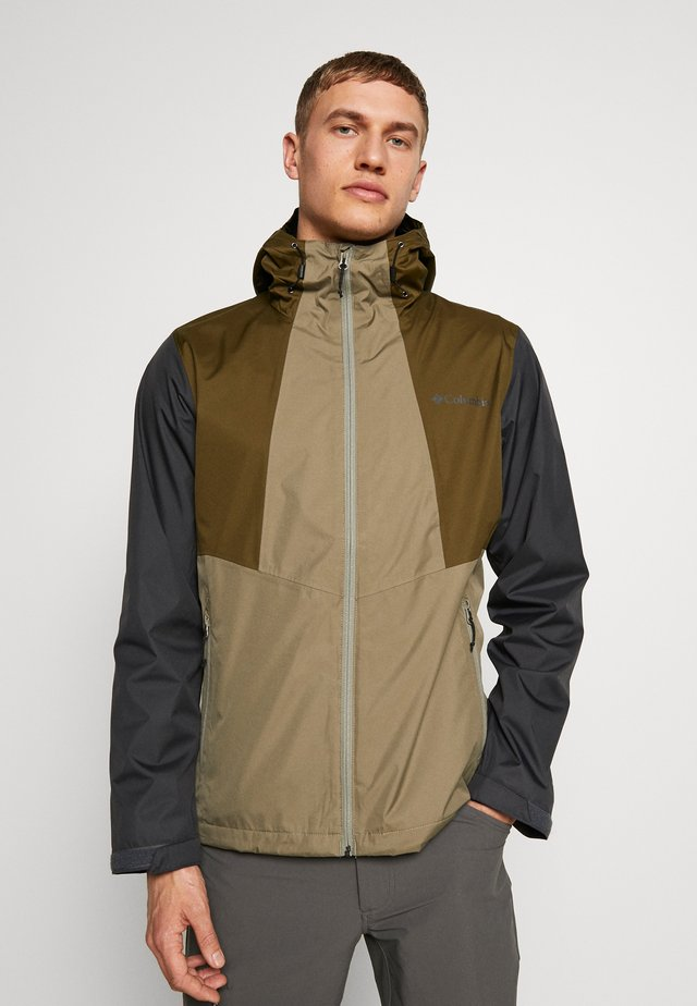 INNER LIMITS™ JACKET - Hardshelljacke - sage/new olive/shark