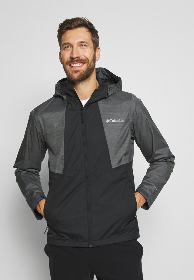 INNER LIMITS™ JACKET - Hardshell jacket - black/graphite heather