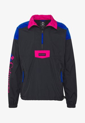 SANTA ANA™ ANORAK - Větrovka - black/azul/cactus pink