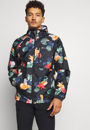 FLASH FORWARD™ WINDBREAKER PRINT - Outdoorjas - black