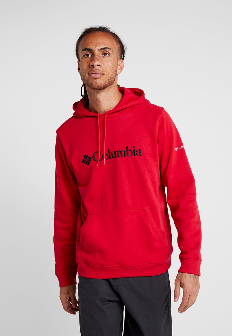 Columbia - BASIC LOGO HOODIE - Hoodie - mountain red