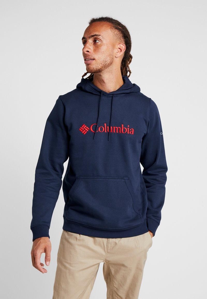 Columbia - BASIC LOGO HOODIE - Huppari - collegiate navy