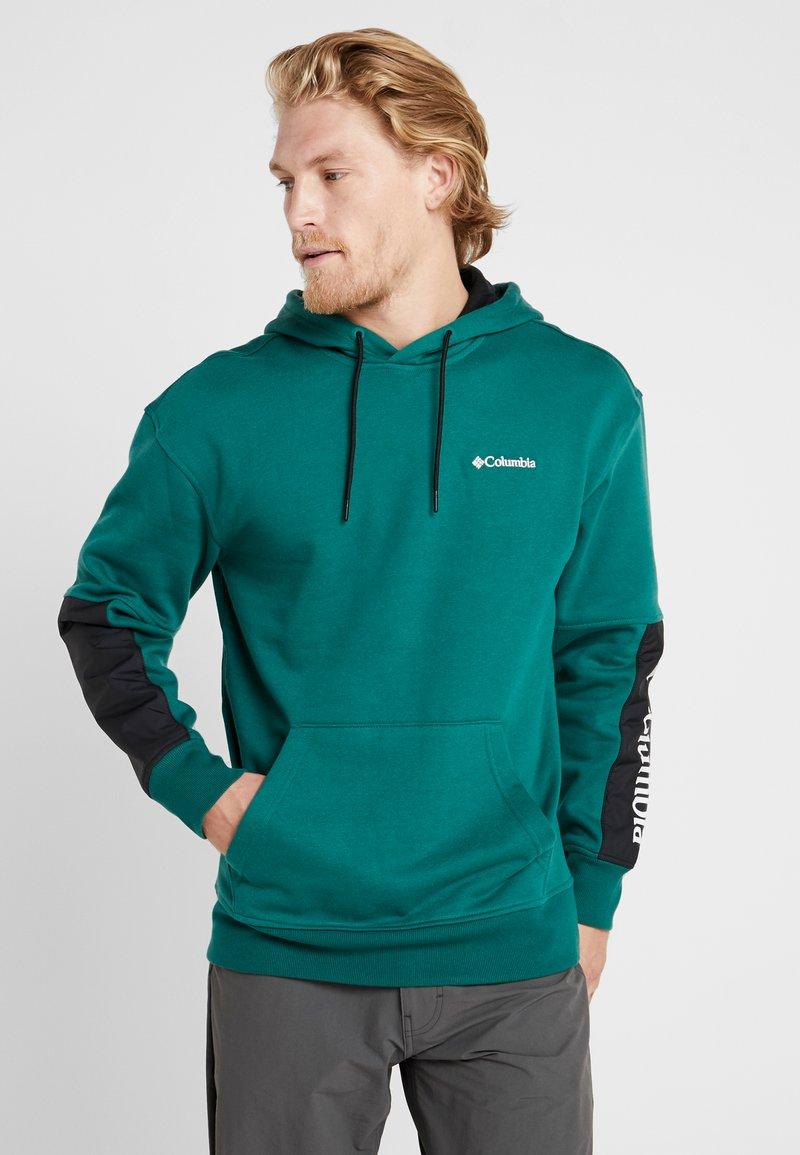 Columbia - FREMONT™ HOODIE - Hættetrøjer - pine green/black/white