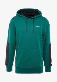 Columbia - FREMONT™ HOODIE - Hoodie - pine green/black/white - 4