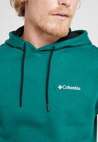 Columbia - FREMONT™ HOODIE - Hoodie - pine green/black/white - 5