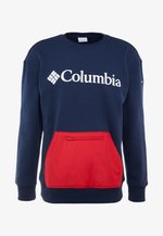 FREMONT™ CREW - Sweatshirt - collegiate navy/mountain red