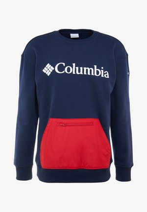 FREMONT™ CREW - Bluza - collegiate navy/mountain red