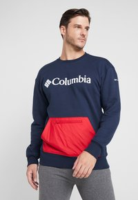 Columbia - FREMONT™ CREW - Sweatshirt - collegiate navy/mountain red - 0