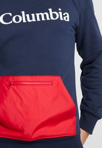 Columbia - FREMONT™ CREW - Sweatshirt - collegiate navy/mountain red - 4
