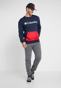 Columbia - FREMONT™ CREW - Sweatshirt - collegiate navy/mountain red