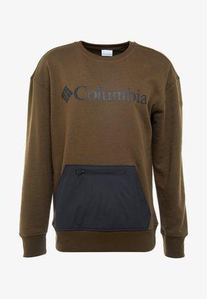 FREMONT™ CREW - Sweater - olive green/black