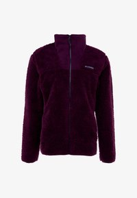 Columbia - WINTER PASS FULL ZIP - Fleecejakker - black cherry/shark - 5