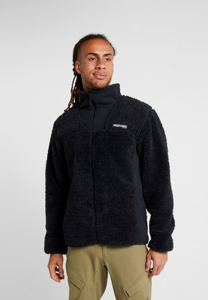 WINTER PASS FULL ZIP - Fleecejacka - black