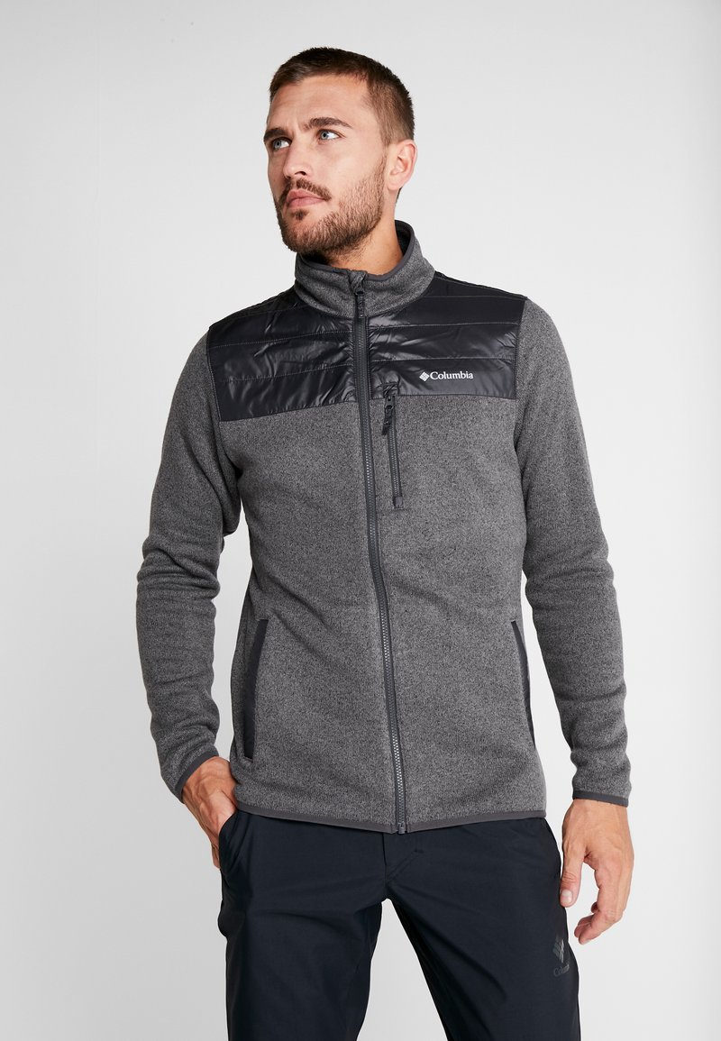 Columbia - CANYON POINT FULL ZIP - Fleecejacke - city grey/shark