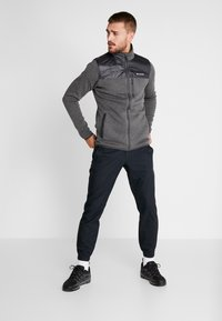 Columbia - CANYON POINT FULL ZIP - Giacca in pile - city grey/shark - 1