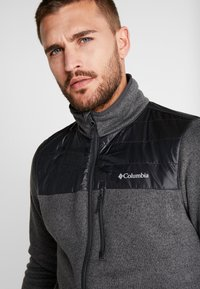 Columbia - CANYON POINT FULL ZIP - Giacca in pile - city grey/shark - 5