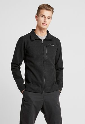 PANORAMA FULL ZIP - Fleecová bunda - black
