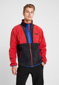 Columbia - BACK BOWL FULL ZIP  - Veste polaire - mountain red/black/azul - 0