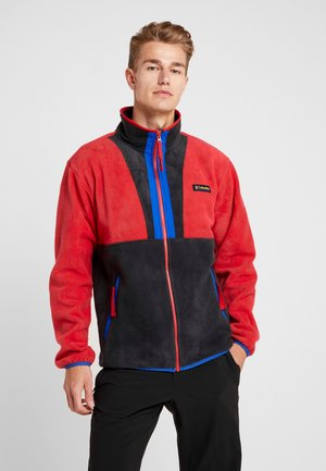 BACK BOWL FULL ZIP  - Fleecejacke - mountain red/black/azul
