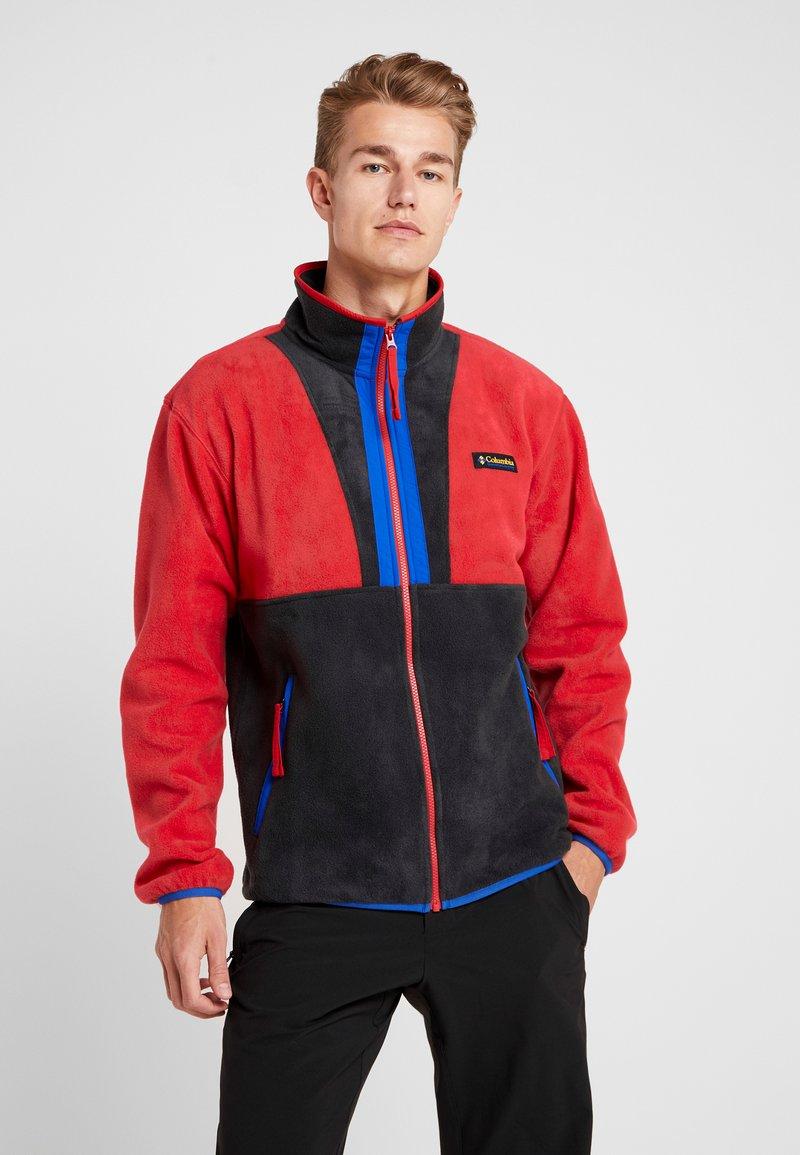 Columbia - BACK BOWL FULL ZIP  - Kurtka z polaru - mountain red/black/azul