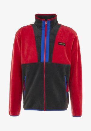 BACK BOWL FULL ZIP  - Fleecejas - mountain red/black/azul