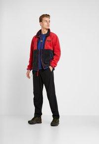 Columbia - BACK BOWL FULL ZIP  - Kurtka z polaru - mountain red/black/azul - 1