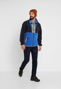 Columbia - BACK BOWL FULL ZIP  - Fleece jacket - azul/black/stinger - 1