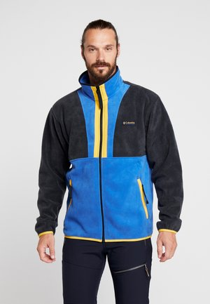 BACK BOWL FULL ZIP  - Fleece jacket - azul/black/stinger
