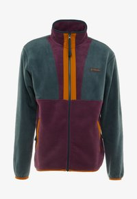 Columbia - BACK BOWL FULL ZIP  - Fleece jacket - night shadow/black cherry - 3