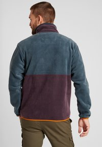 Columbia - BACK BOWL FULL ZIP  - Fleece jacket - night shadow/black cherry - 2