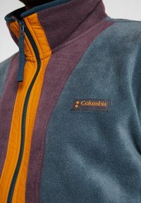 Columbia - BACK BOWL FULL ZIP  - Fleece jacket - night shadow/black cherry - 4