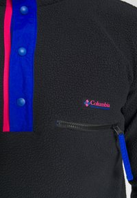 Columbia - HELVETIA™ HALF SNAP - Fleece trui - black - 5