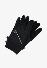 Columbia - TRAIL SUMMIT RUNNING GLOVE - Gloves - black - 1