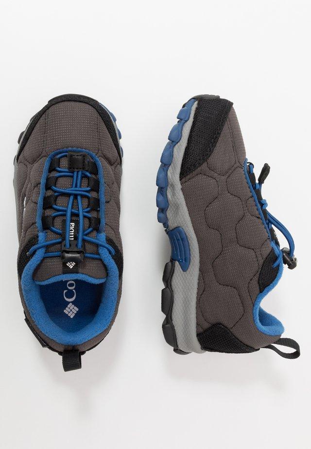 CHILDRENS FIRECAMPSLEDDER 3 WP - Hiking shoes - dark grey/royal