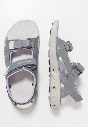 YOUTH TECHSUN VENT - Trekkingsandale - tradewinds grey/white violet
