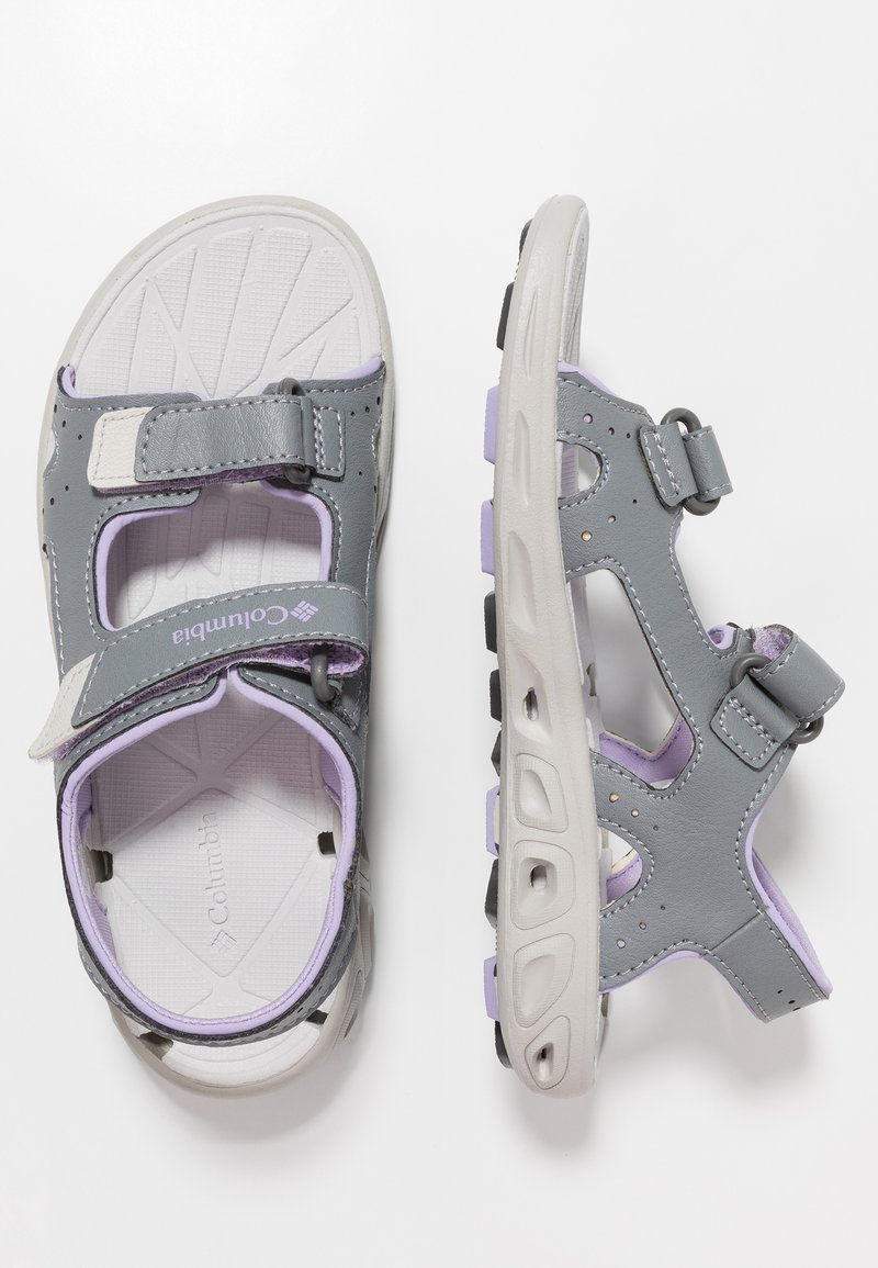 Columbia - YOUTH TECHSUN VENT - Walking sandals - tradewinds grey/white violet