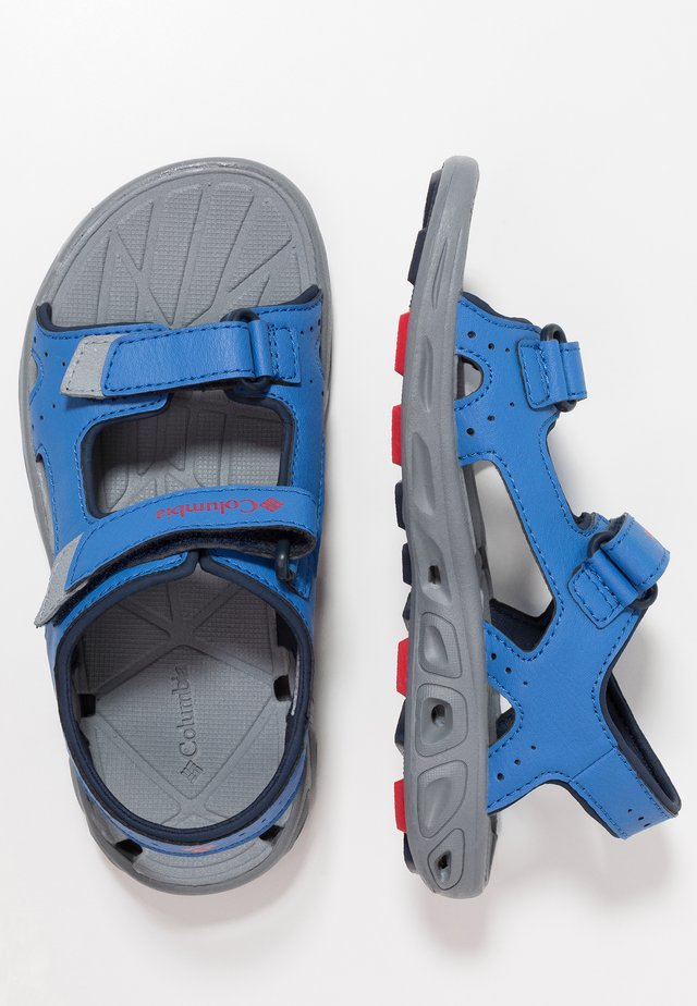 YOUTH TECHSUN VENT - Outdoorsandalen - stormy blue/mountain red