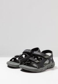 Columbia - YOUTH TECHSUN VENT - Outdoorsandalen - black/grey - 3