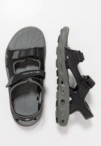 Columbia - YOUTH TECHSUN VENT - Outdoorsandalen - black/grey - 0