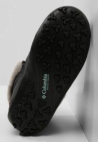 Columbia - YOUTH MINX SHORTY OMNI-HEAT WATERPROOF - Zimní obuv - black/spray - 4