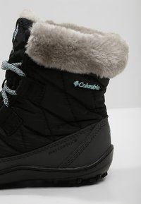 Columbia - YOUTH MINX SHORTY OMNI-HEAT WATERPROOF - Zimní obuv - black/spray - 5