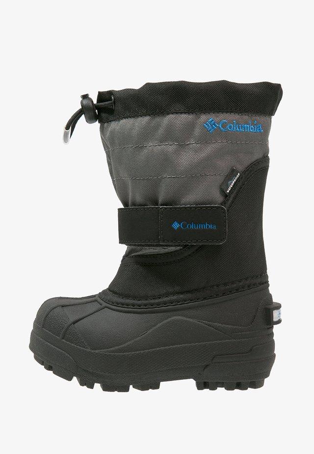 POWDERBUG PLUS II - Bottes de neige - black/hyper blue